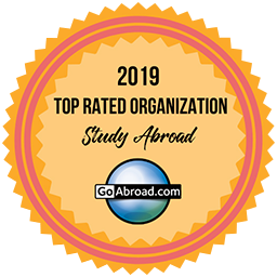 GoAbroad.com Top Rated Study Abroad Organization 2019